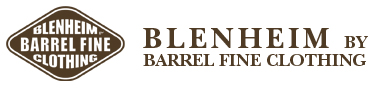 blenheim by Barrel fine clothing - official Site